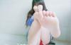 重磅福利-推特网红少女工口糯米姬第一弹 首发特典 蓝色JK+咩咩咩 图集*2